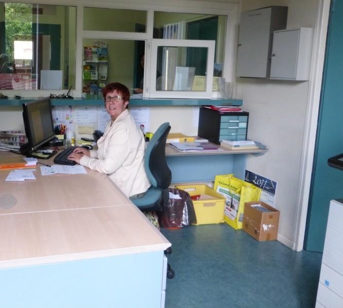 Bureau accueil avant les travaux