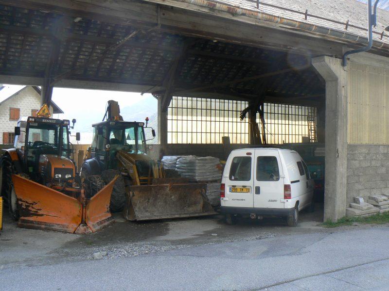 Garage avant les travaux