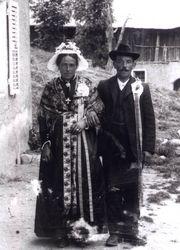 costume lors d'un mariage 1910
