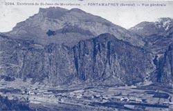 Pontamafrey vers 1910