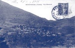 Carte postale de Montpascal datée de 1911